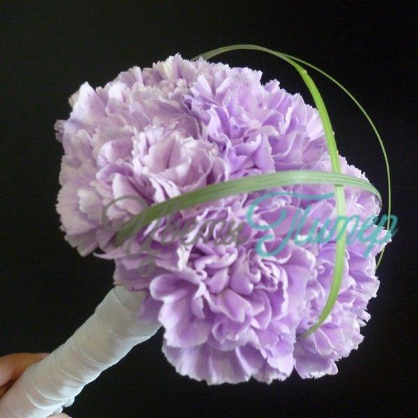 Купить фиолетовые гвоздики
