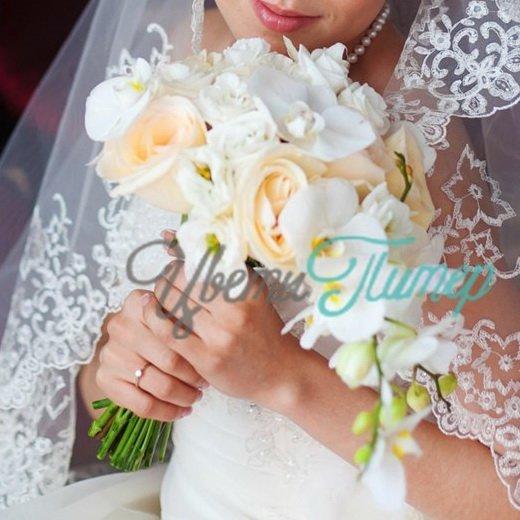 Цветов букета из орхидей в корзине цена свадебного